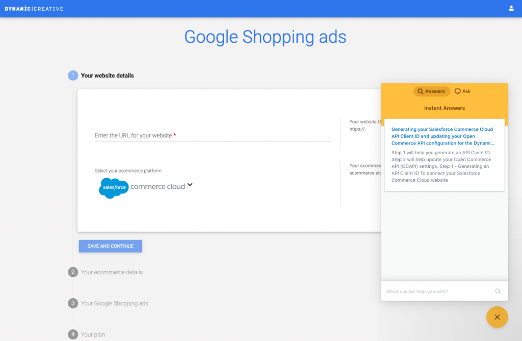 Salesforce Commerce Cloud Google Shopping