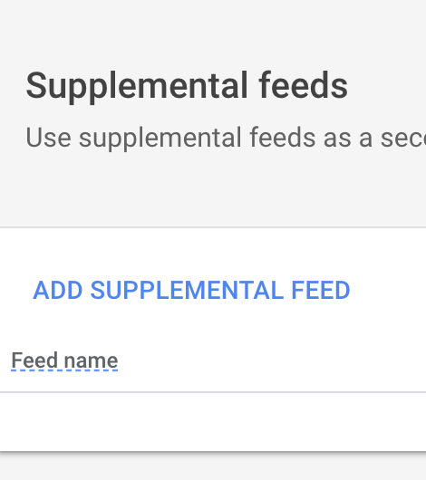 Supplemental Feed How To Pt 2