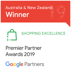 Google Shopping Award Winner