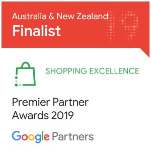 Awards - Google Shopping Finalist